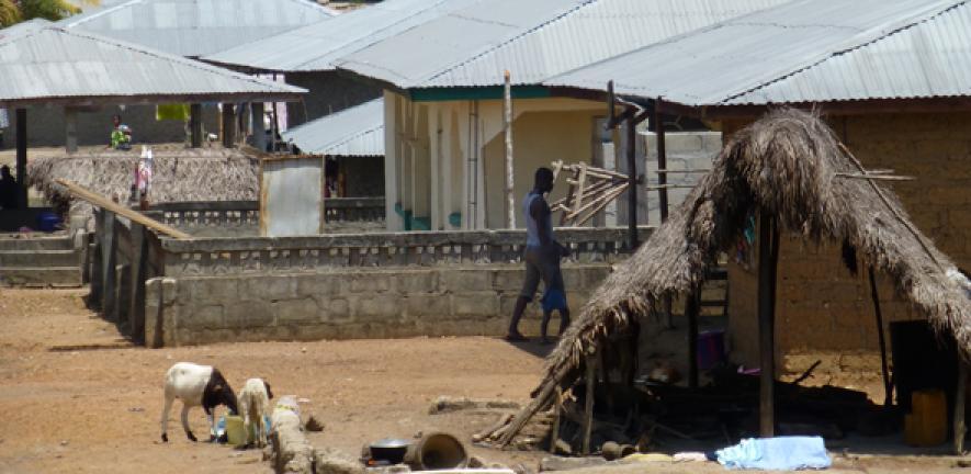 Housing in Kenema, Sierra Leone