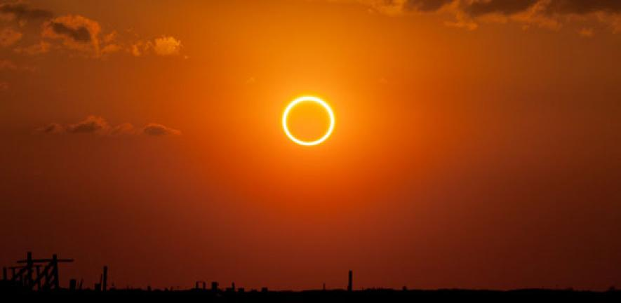 Oldest recorded solar eclipse helps date the Egyptian