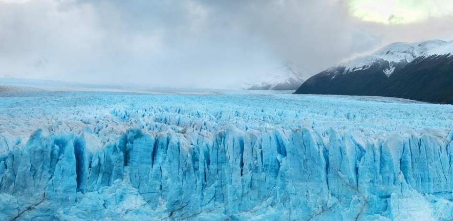 Deep into the Patagonia Glacier