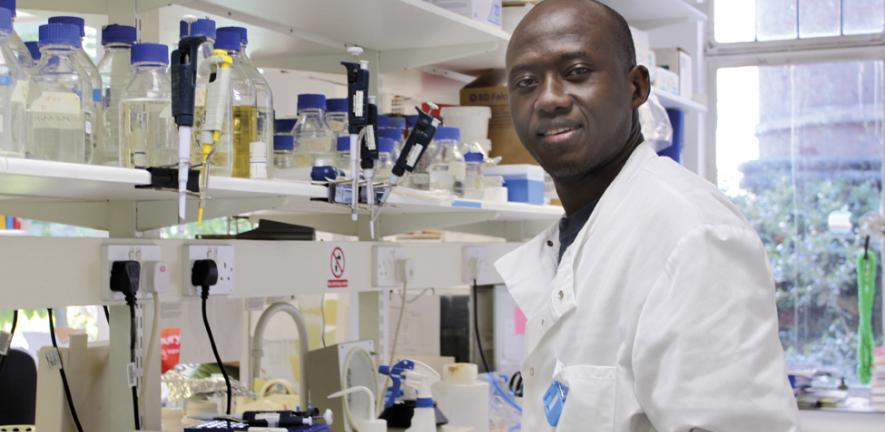 Kenyan PhD student in Pathology Department