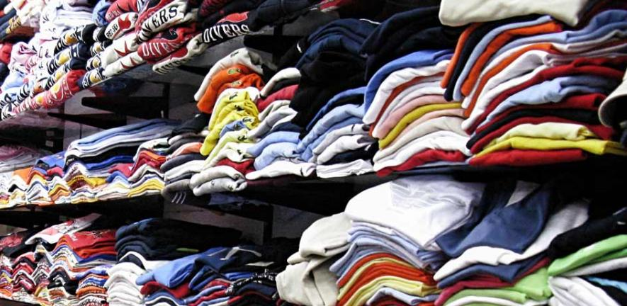 Men Shopping for Clothing Accessories
