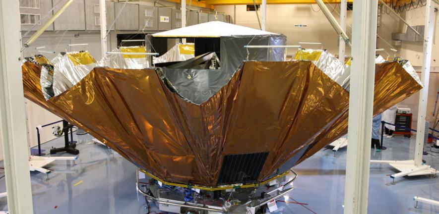 Gaia Deployable Sunshield Assembly