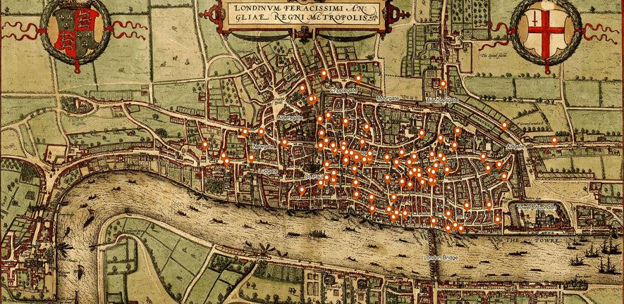 Murder map\' reveals medieval London\'s meanest streets ...