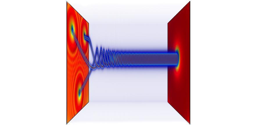 Stable giant quantum vortices