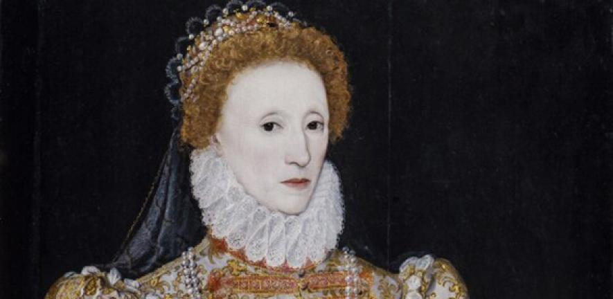 Queen Elizabeth I by unknown continental artist (c.1575), NPG 2082. Image: The National Portrait Gallery, London