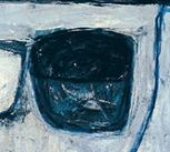 Blue Still Life by William Scott, 1957