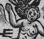 Woodcut of hell from 'A voice from heaven, the youth of Great Britain' (1720). Credit: The British Library Board, 731.a.23 (2) page 16