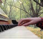 Piano on Jesus Green