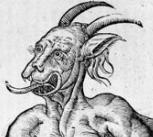 'Monstrum marinum daemoniforme' from Ulysse Aldrovandi's 'Monstrorum Historia' (1642, Bologna), p.350