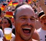 Happy Germany fans