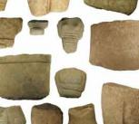 Fragments of figurines found on Keros