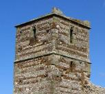 Knowlton Church, a listed building