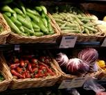 Vegetables in whole food market.