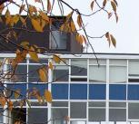 Demolition of Manor Park School, Newcastle.