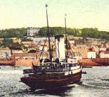 Arrival of boat, Guernsey