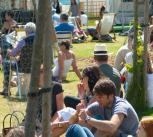 The main site at the Hay Festival.