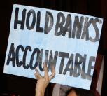 Banking Protest.
