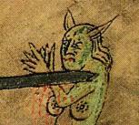 Illustration from the Saga of St Olaf, Flateyjarbók, Reykjavik, Iceland
