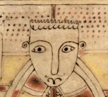 Detail from the Book of Deer