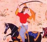 A version of Shahnama: a battle between Iran and Turan