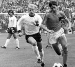 Johan Cruyff at the 1974 World Cup Final.