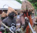 Modern-day Melanesian tribe.