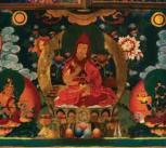 Recent Mural painting at Samding Monastery, Tibet
