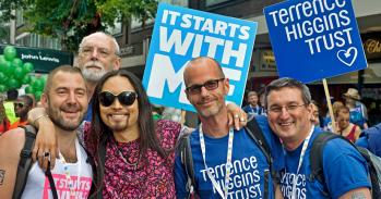 Participants at London's annual LGBT Pride march