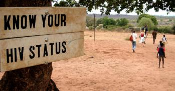 Sign in Africa: 'Know your HIV status'