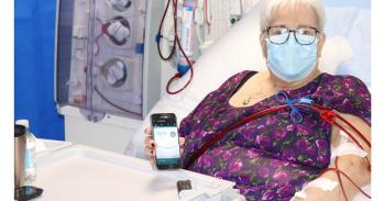 Patient using the artificial pancreas