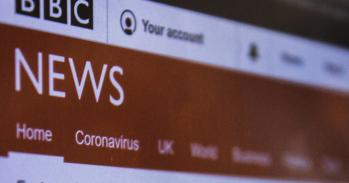 Screenshot of the BBC News website via Unsplash