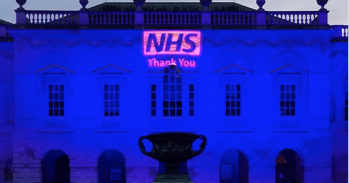 NHS thank you message.