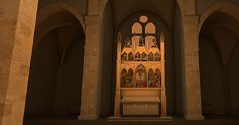 Visualisation of church interior from Hidden Florence 3D: San Pier Maggiore app