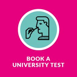 Book a University test icon