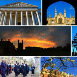 Selection of images from around the University of Cambridge