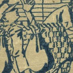 """Detail from a front cover of """"The Blimp"""", 1917."""