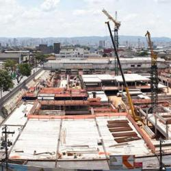 The Third Temple of Solomon under construction in Sao Paolo