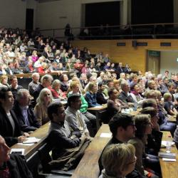 Fully-booked event at the 2011 Festival of Ideas
