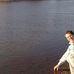 Michael on the banks of the Limpopo River