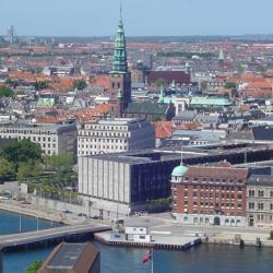 View of Copenhagen.