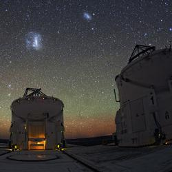 Night sky at ESO's Paranal Observatory in Chile