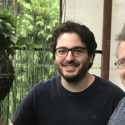 Philip Carella (left) & Sebastian Schornack (right) at the Sainsbury Laboratory, University of Cambridge