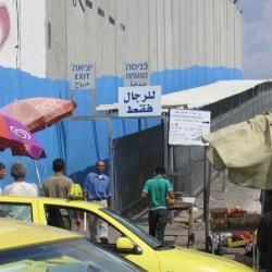 Separation barrier in Jerusalem