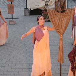 Medea bargains with Aegeus
