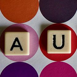 "Tiles spelling ""autism"""