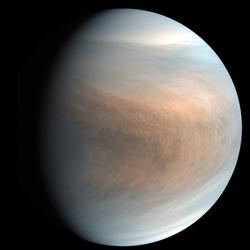 Synthesized false colour image of Venus
