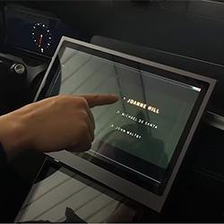 No-touch touchscreen