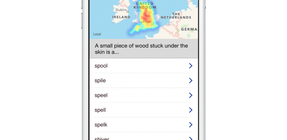 Do you say splinter, spool, spile or spell? English Dialects